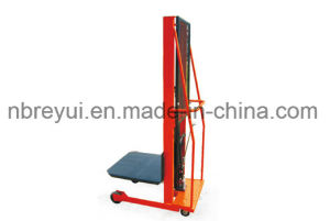 500kg (4-wheeled Platform) Manual Lift Truck pictures & photos