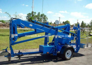 China Towable Hydraulic Articulating Boom Lift pictures & photos