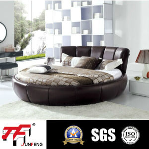 2016 Modern Leather Bed J-54