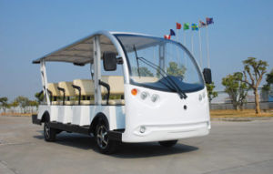 Cheap Price 14 Seaters Electric Sightseeing Car pictures & photos