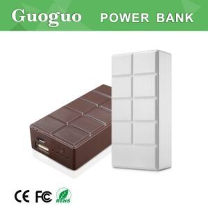 New Design Pocket Chocolate Power Bank, Portable Power Bank Charger 5200mAh, Valentine′s Day Gift Power Bank