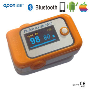 Finger Pulse Oximeter with OLED Screen Bluetooth