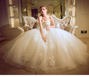 New Style Floor-Length Sheath Deep V-Neck Cap Sleeves Sweep Train Lace Purple and White Wedding Dresses with Detachable Sash (ED10021)