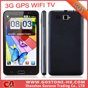"5.2""Capacitive Touch Screen Dual SIM Card Android V2.3 Mtk6573 Bluetooth 3G WiFi TV GPS Smart Cell Phone"