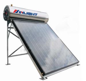 Integrated Pressurized Flat Plate Solar Water Heating pictures & photos