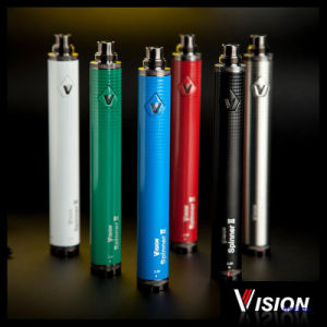 Ariable Voltage 3.3V-4.8V Vision Spinner 2 Battery, Wholesale Original 1600mAh Vision Spinner 2 Electronic Cigarette/E Liquid