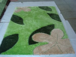 South Korea Silk Carpet Flooring Mat 1200d pictures & photos