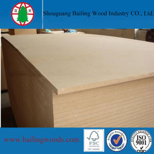 1220*2440mm Plain MDF for Furniture and Packing