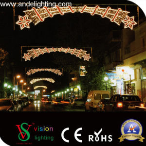 LED Christmas Motif Cross Street Lights pictures & photos