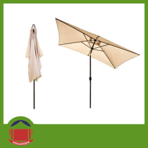 Square Outdoor Steel Waterproof Parasol Umbrella pictures & photos