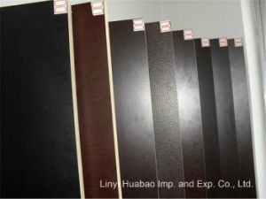 Poplar/Hardwood Core Finger Joint Film Faced Plywood pictures & photos
