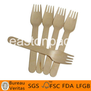 Disposable Wooden Cutlery and Fork pictures & photos