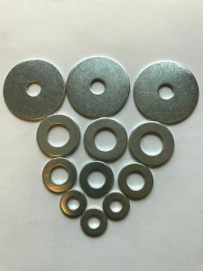 Zinc Plated DIN9021 Flat Washer pictures & photos