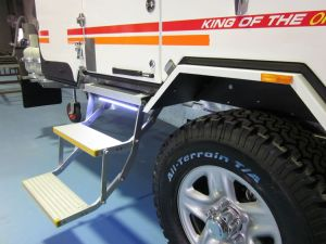 Electric Double Step for Motorhomes pictures & photos