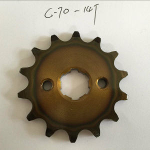 Front Sprocket C70 14t pictures & photos