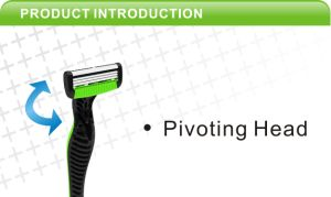 4 Blade Disposable Razor Factory Direct Supply Plastic Shaver, Plastic Shaving Razor, pictures & photos