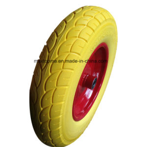 China Maxtop Quality PU Foam Wheel pictures & photos