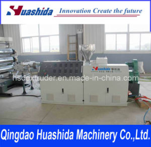 Plastic Sheet Extruder / PVC Film Extrusion Line pictures & photos