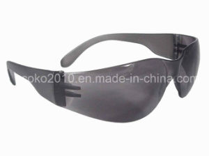 Clear Lens and Black Legs Protective Glasses pictures & photos
