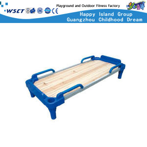 Children Indoor Folding Bed Plastic Furniture for Sale Hc-2104 pictures & photos