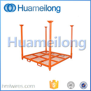 Warehouse Folding Stacking Metal Tire Storage Rack for Sale pictures & photos