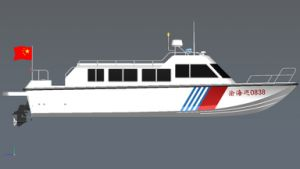 12meters Cabin Patrol Speed Fibergalss Boat pictures & photos