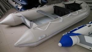 1.2mm PVC Boat (aluminum floor, light grey) pictures & photos