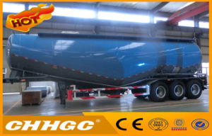 Bulk Cement Tanker Semi Trailer with Air Compressor for Sale pictures & photos