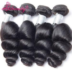 Hot Mongolian Unprocessed Human Hair Mongolian Virgin Hair Loose Wave pictures & photos
