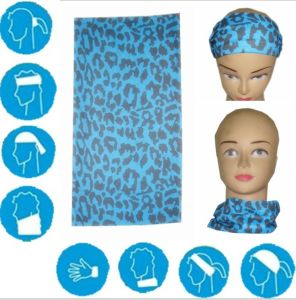 High Quality 100% Cotton Ladies Printed Bandana pictures & photos