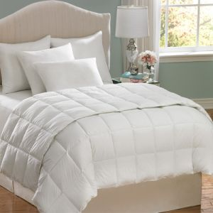White 80GSM Microfiber Fabric Box Quilting Summer Comforter