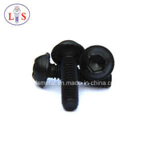Hexagonal Socket Button Head Flange Machine Screw/Flange Bolt pictures & photos