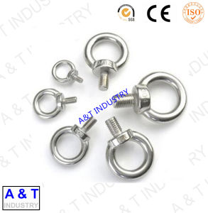 AT Carbon Steel Galvanized DIN582 Eye Nut Parts with High Quality pictures & photos