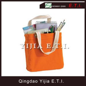 Oringe Color Cotton Canvas Shopper Tote Bag pictures & photos