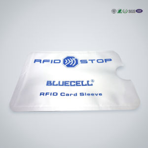 Mdbs19 Aluminum Foil RFID Blocking Card Sleeve pictures & photos