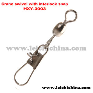 Fishing Crane Swivel with Interlock Snap pictures & photos