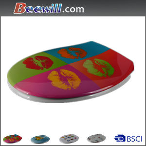 Designed Customed Decorative Toilet Lids pictures & photos