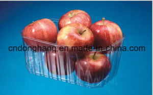 Famous Brand Apple Fruit Tray Container Forming Machine (DHBGJ-350L) pictures & photos