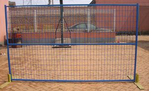 Hot-Dipped Galvanized Iron Wire Temporary Fence pictures & photos