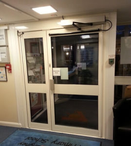 Automatic Swing Door with CE, SGS, ISO9001: 2000 (DS-S180) pictures & photos