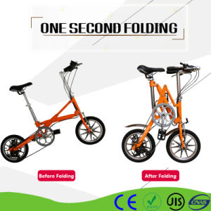 Al Alloy Mini Bicycle Urban Commuter Bike One Second Folding pictures & photos