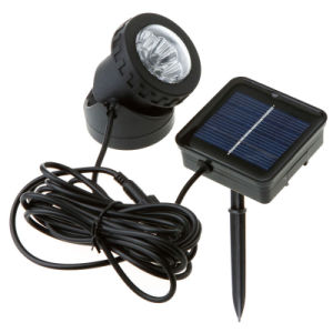 White 3W Solar Powered LED Light for Outdoor Lighting pictures & photos