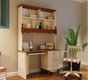New Design Modern Home Furniture Children Study Table with Bookcase Design pictures & photos