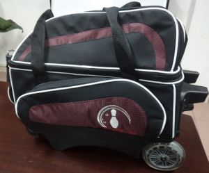 Double Ball Roller Bowling Bag pictures & photos
