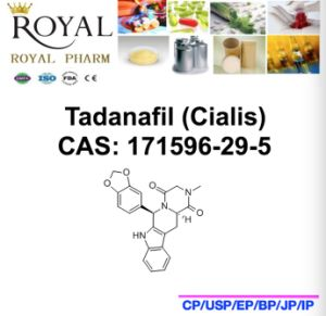 CAS: 171596-29-5, Good Quality, Low Price Tadalafil pictures & photos