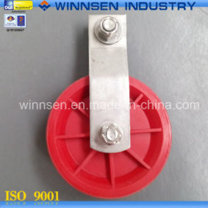 "3.5"" Nylon Pulley Vertical Pulley Ys50085"