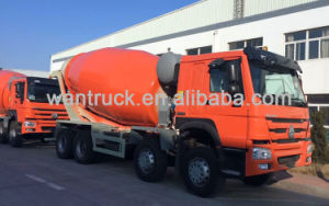 HOWO Series Driving Type 8X4 Zz1317n3261W Concrete Mixer Truck pictures & photos