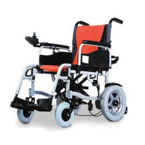 Electric Battery Folding Wheelchair Bz-6201 pictures & photos