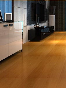 8.3mm Mirror Surface HDF Laminated Flooring AC3 U Groove E1 pictures & photos