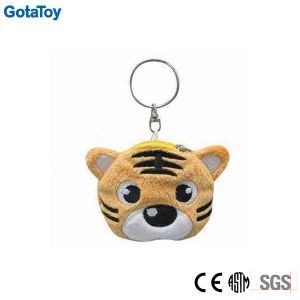 Custom Plush Toy Tiger Keychain Stuffed Soft Toy Key Chain pictures & photos